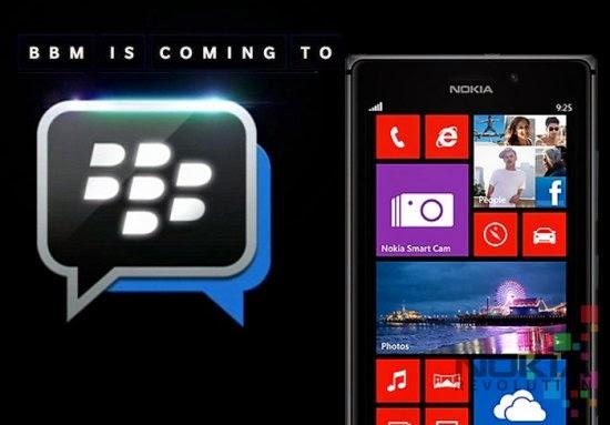 Actualizado BlackBerry Messenger Beta para Windows Phone v. 1.0.0.4