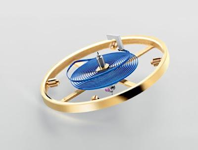 Rolex Parachrom Blue Hairspring oscillator