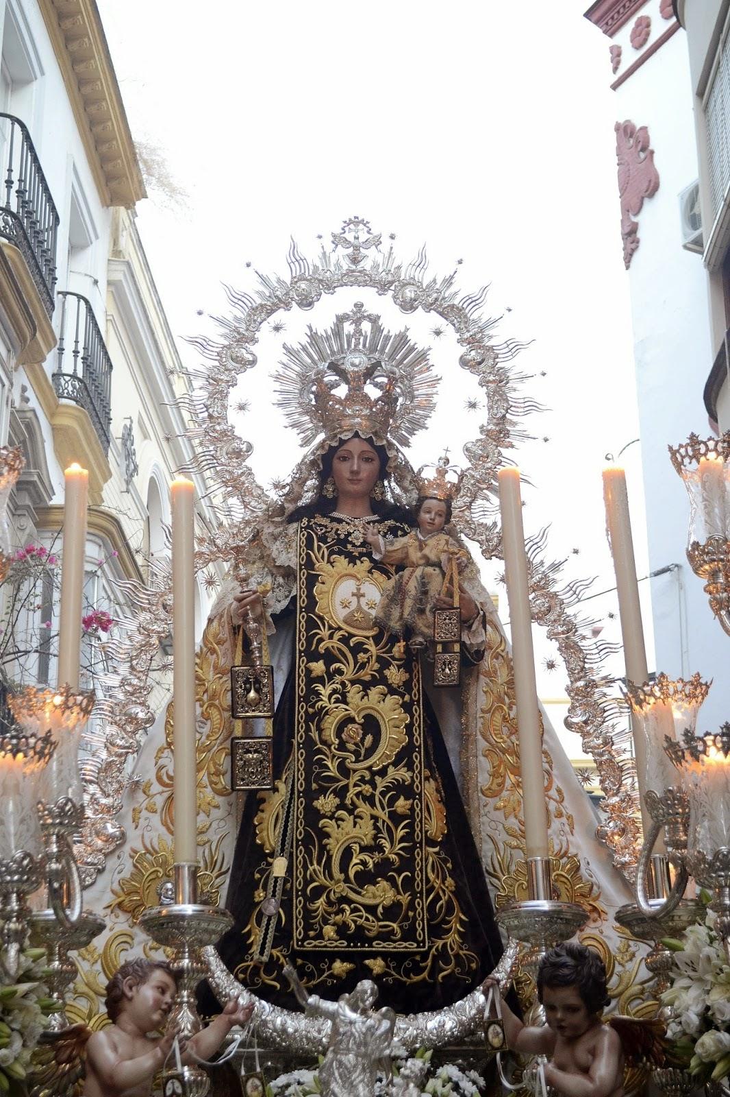 Horario e itinerario virgen del carmen del santo angel - Horario merkamueble sevilla ...