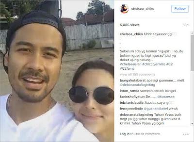 Benarkah Chelsea Islan Dan Chicco Jerirkho  Tengah Menjalin Hubungan Asmara ?