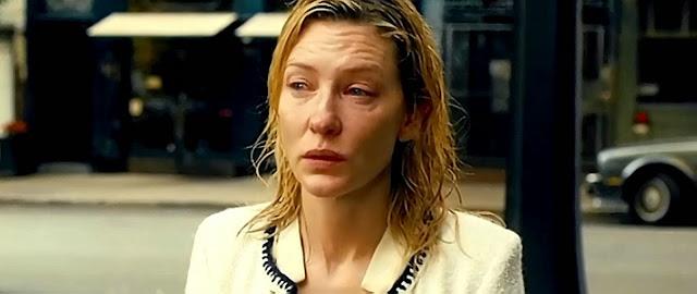 Cate Blanchett en un instante de la película, tras un dramático momento