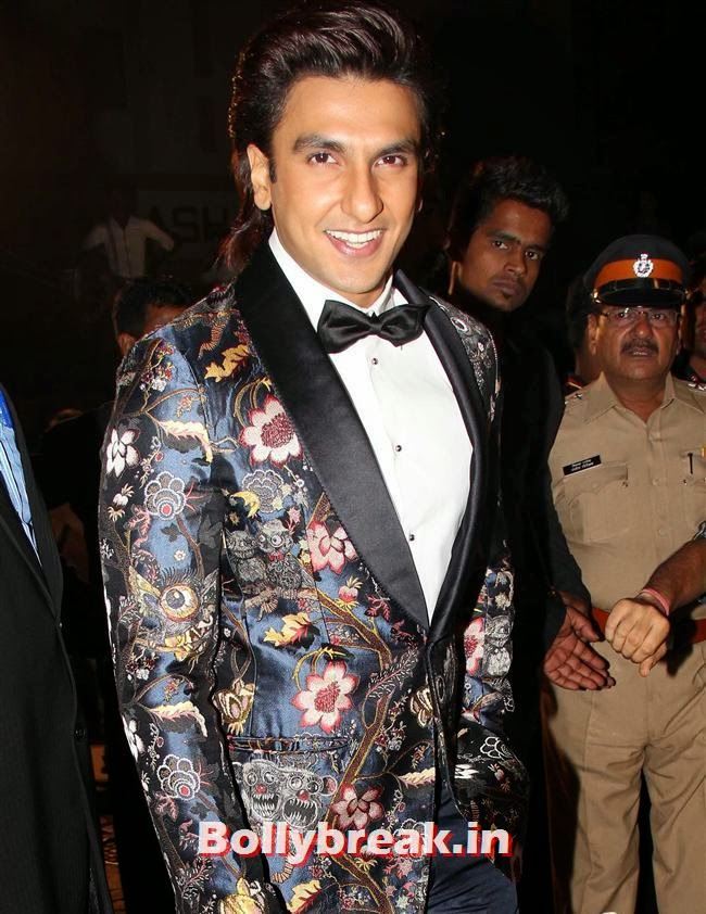 Ranveer Singh, Filmfare Awards 2014 Red carpet Images