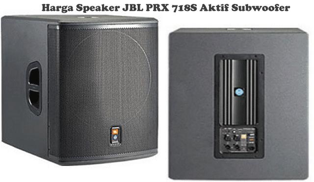 Harga Speaker JBL PRX 718S Subwoofer 18 inch