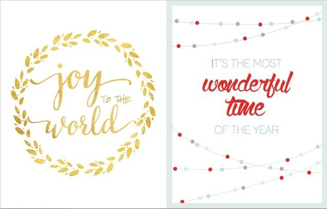 świąteczne I Noworoczne Plakaty Do Druku Zmieniony Rytm
