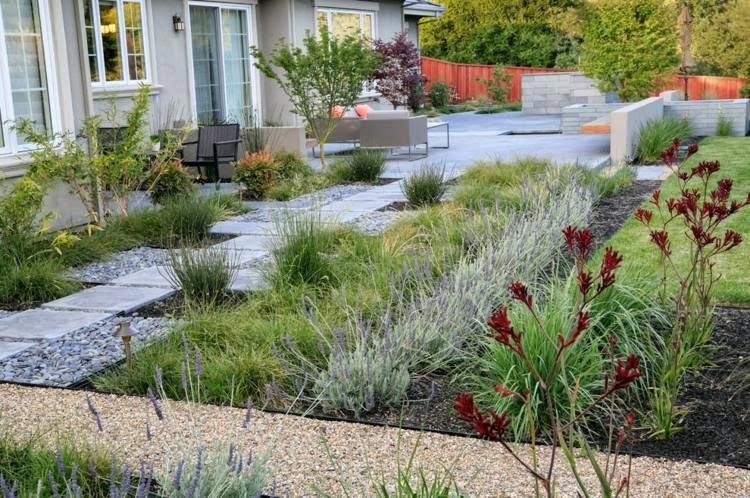 Garden Design of 2015 - Ornamental Grasses, Stones And ...