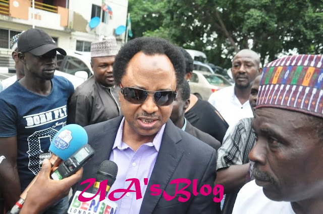 APC vs PDP: What Shehu Sani said after meeting with Oshiomhole