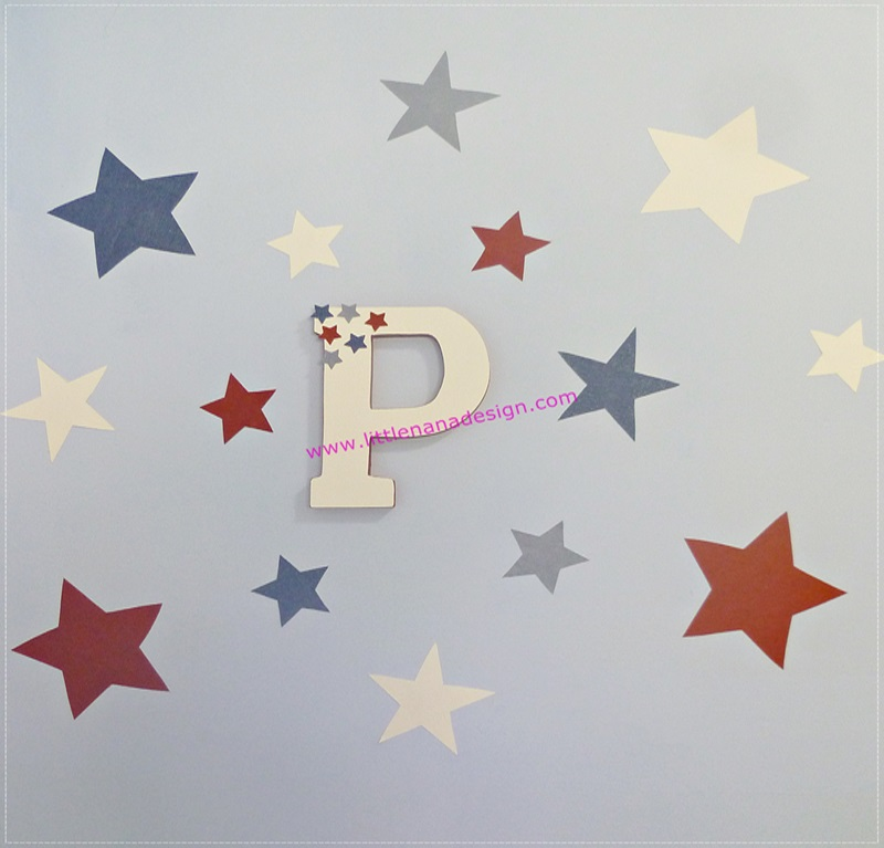 decoracion diy letras washi tape
