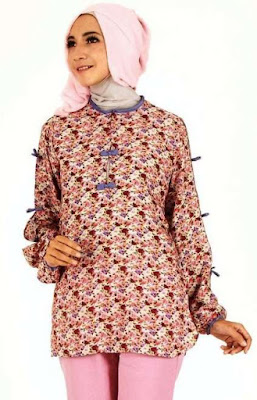 Model Dress Batik Remaja Muslim