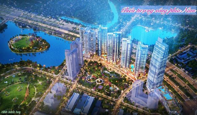 Phối cảnh tổng thể dự án Rose Town Hoàng Mai