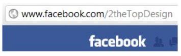 Change Facebook Page Url