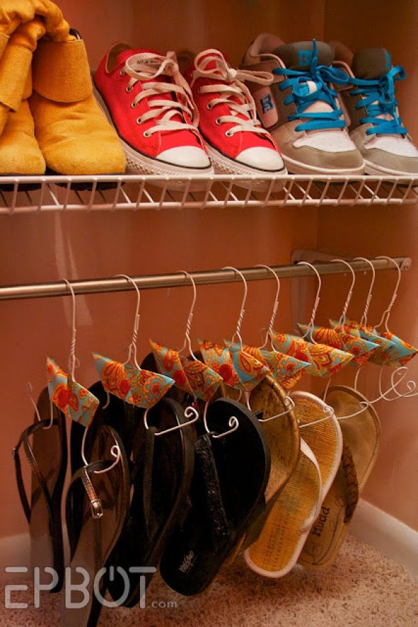 25 ways finally bring order in the closet