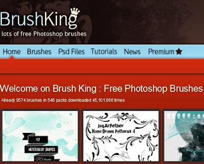 7 Situs penyedia brush photoshop