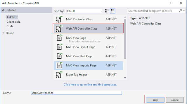 how to create web api in mvc 5 code project