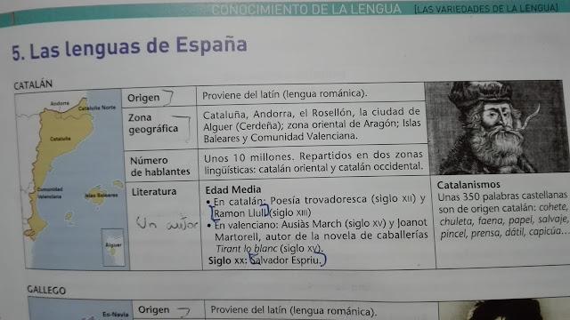 institut de Valderrobres, catalá, ESO, mentires