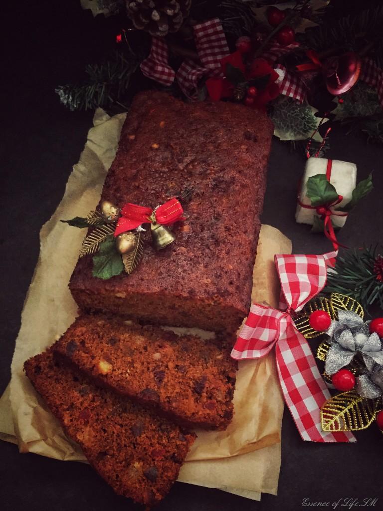 Classic Christmas Pound Cake Rich Fruit Cake Essence Of Life Food