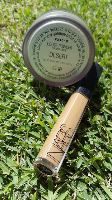 NARS Radiant Creamy Concealer 'Caramel' + Make-up Designory Loose Powder 'Desert' - www.modenmakeup.com