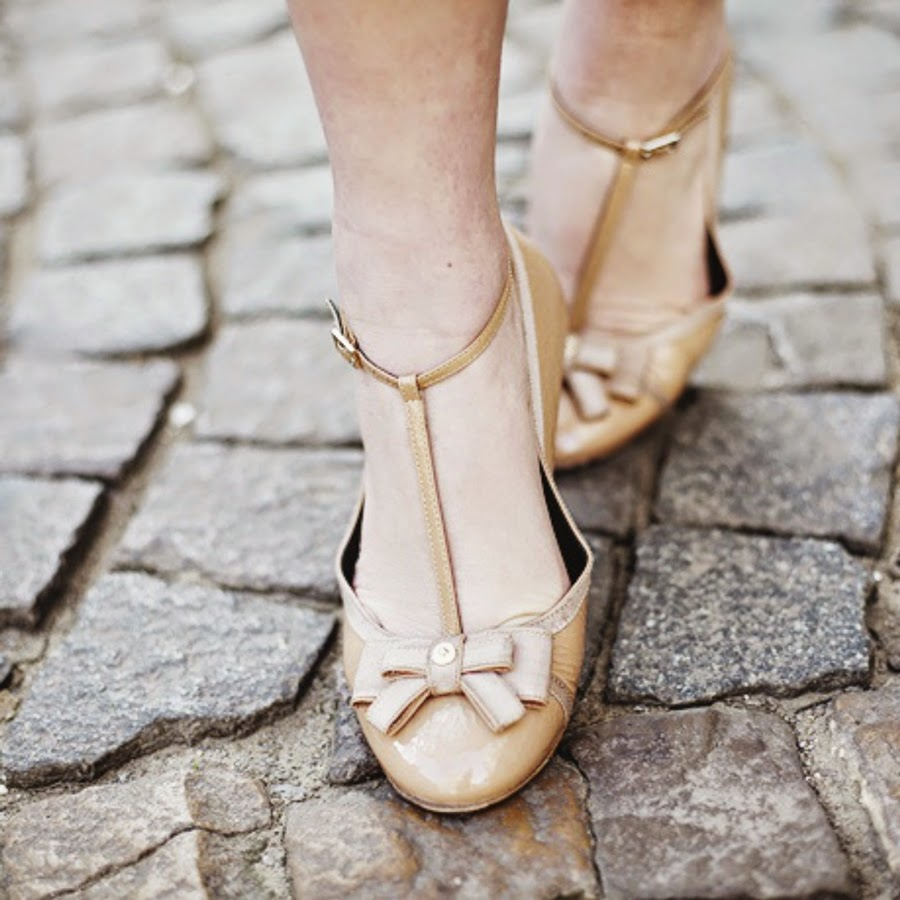 sapato estilo retrô