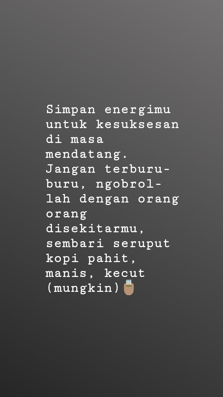 caption kopi