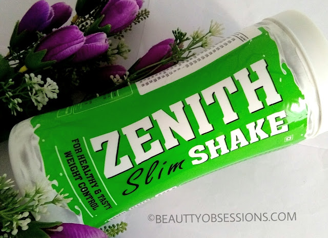 Zenith Nutrition Slim Shake 'Chocolate' for Healthy & Tasty Weight Control