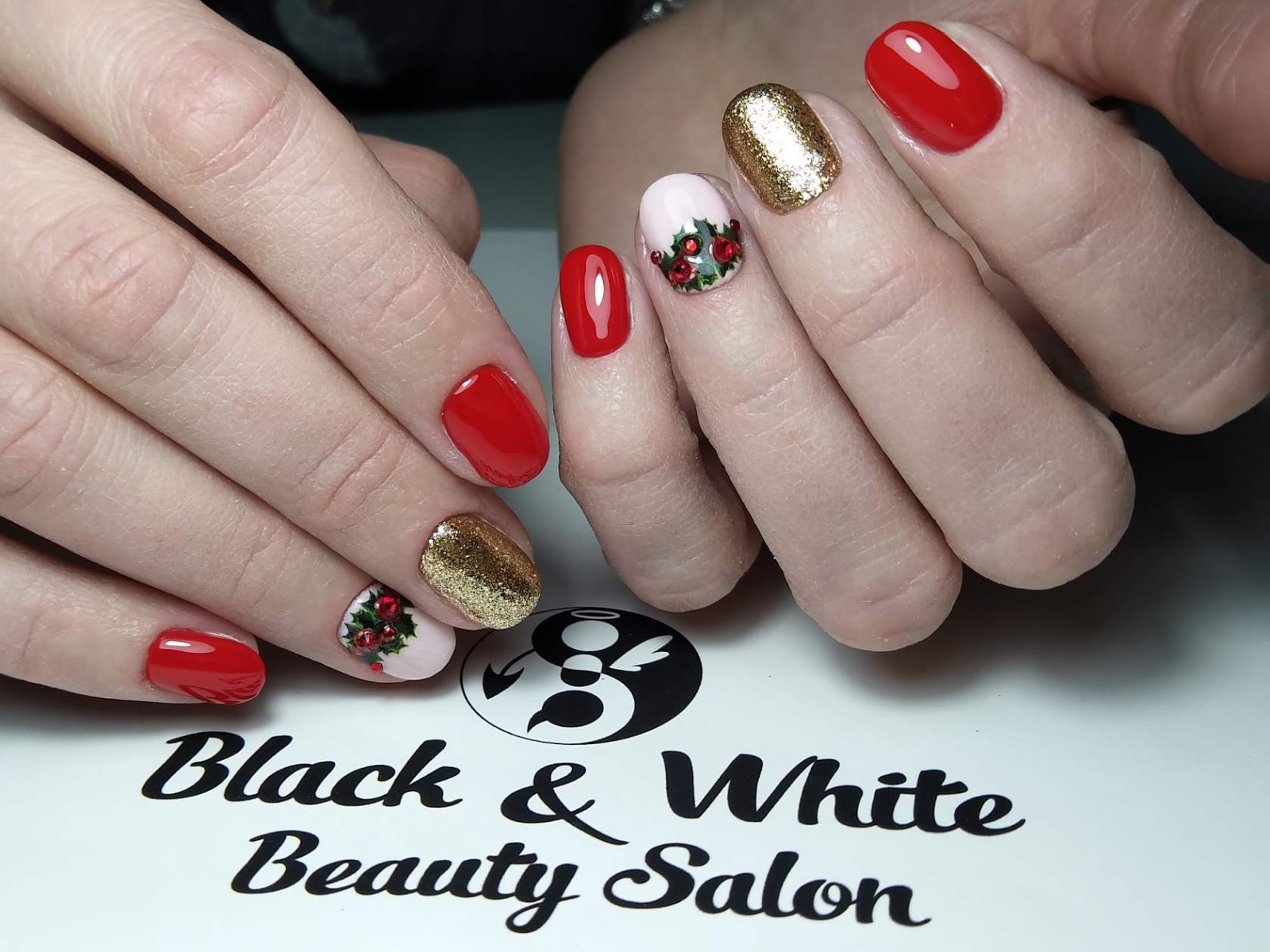 Black & White Nails Art Disign: Manhattan Nails In Bromsgrove