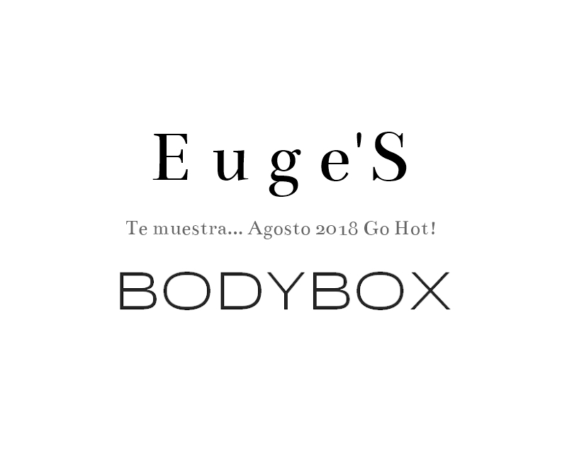 Bodybox Agosto 2018 Go Hot!
