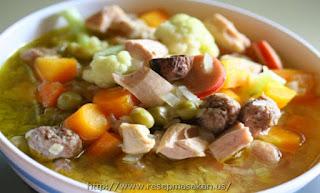 Resep Sup Ayam Bening Untuk Lebaran