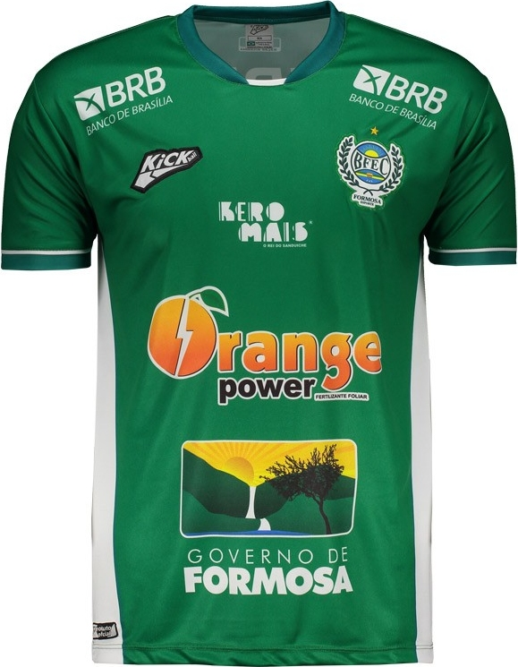 35002509ee Kickball lança a nova camisa titular do Bosque Formosa. A fabricante de material  esportivo Kickball divulgou ...