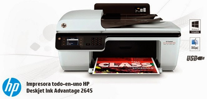 HP 2645 Printer Drivers Download