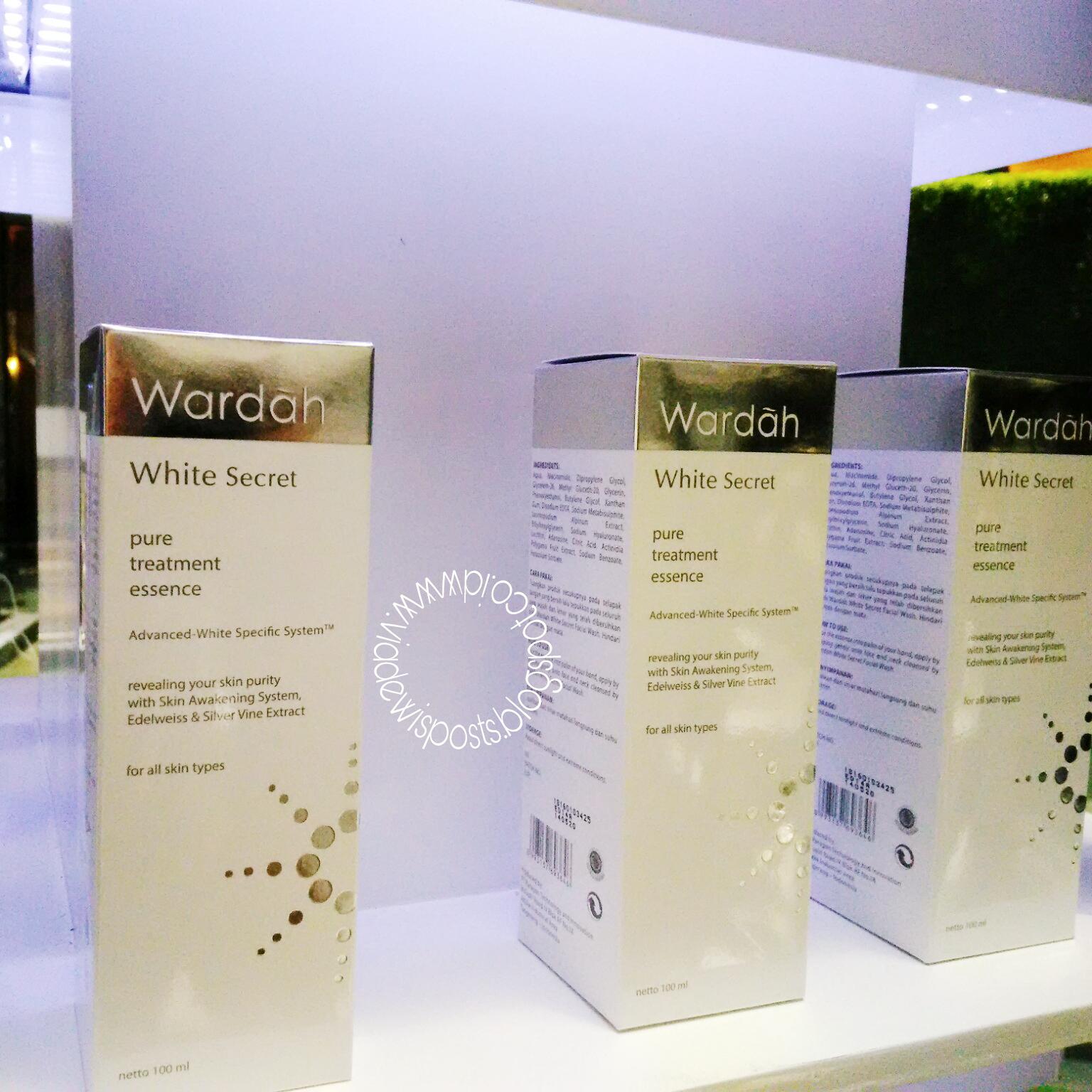 Launching Wardah White Secret Pure Treatment Essence Shining With Bukan Yang Dicabut Sembarangan Tapi Bekerjasama Dengan Beberapa Ahli Dari Swiss Mempunyai Ladang Edelweiss