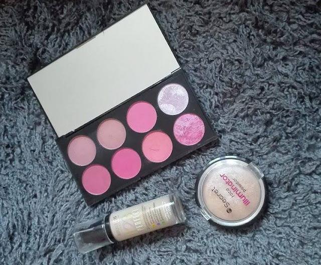 Ulubieńcy listopada: Bourjois, Makeup Revolution, My Secret, L'oreal, NYX, Semilac
