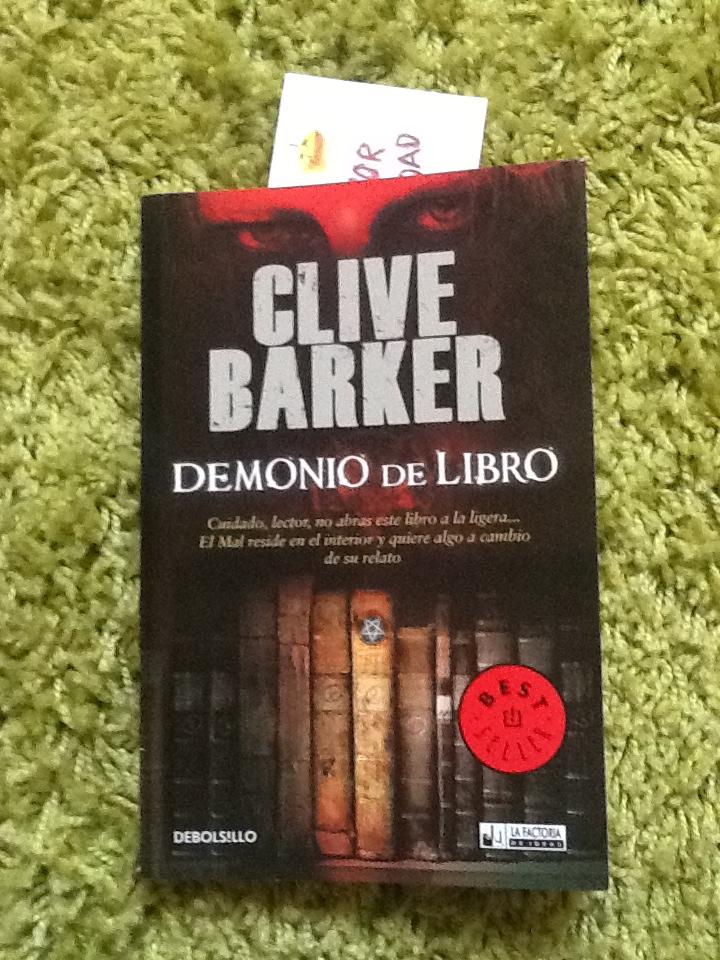 La Escena Final Reseña Libro Demonio De Libro Clive Barker