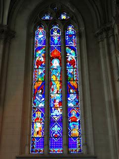 Vitral no Interior da Catedral de La Plata