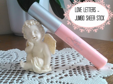 "Love Letters - jumbo sheer stick ""01 rosy in love"" 