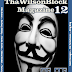 "ThaWilsonBlock Magazine Issue12 ""We Are Anonymous"""