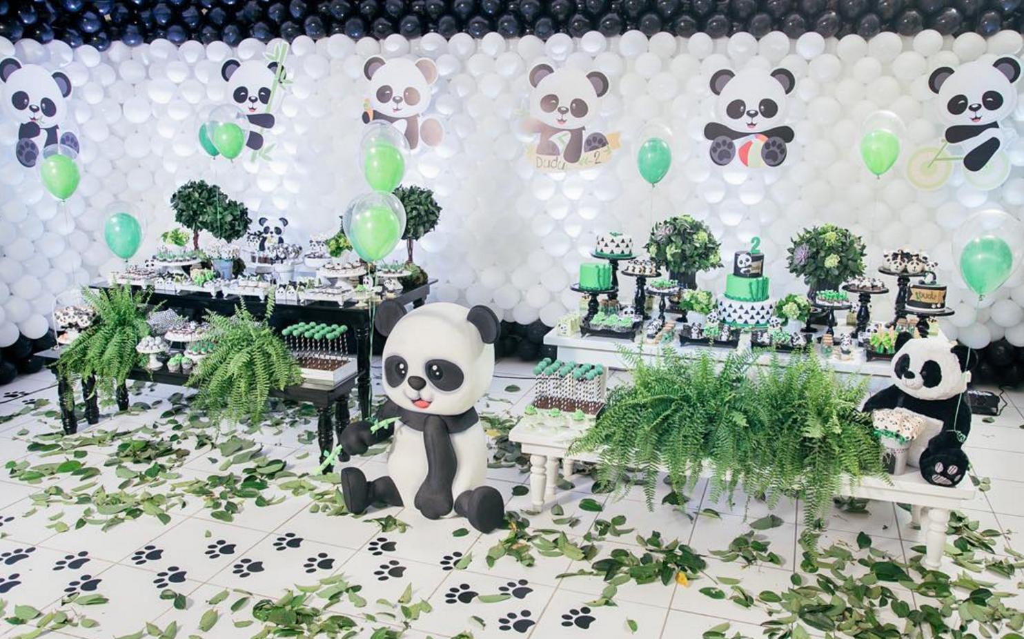 Un Panda Para La Fiesta De Baby Shower