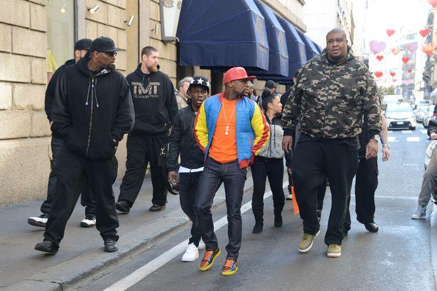 Floyd Mayweather's bodyguard