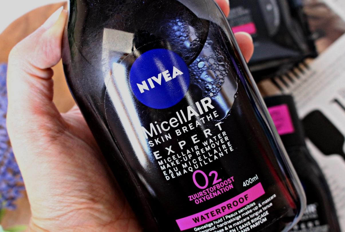 Nivea MicellAir Expert micellair water make up remover