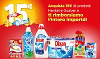 Logo ''Spendi & Riprendi 2019'': Acquista 15€ di prodotti Henkel e ricevi il rimborso di 15€