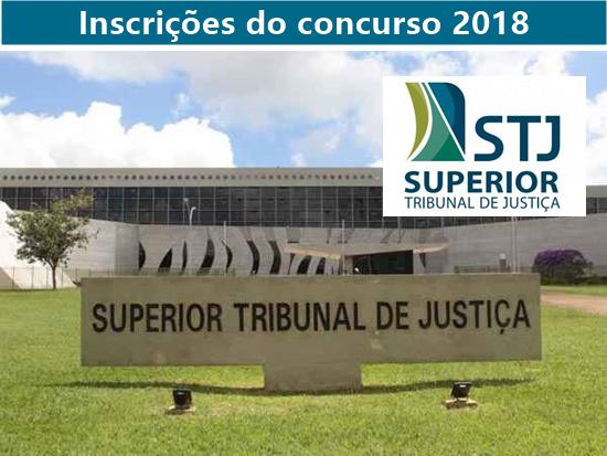 STJ abre inscrições do concurso para 5 vagas