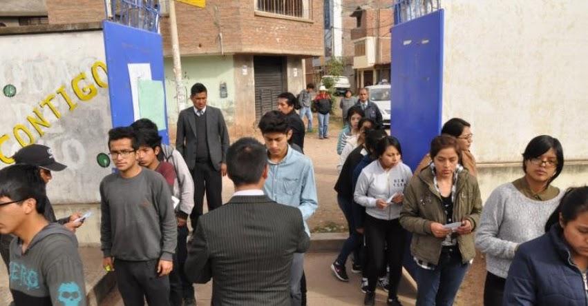 UNCP 2018: Más de 6 mil postulantes en Examen de Admisión de Primera Selección a la Universidad Nacional del Centro del Perú - www.uncp.edu.pe (Resultados 3 Diciembre)