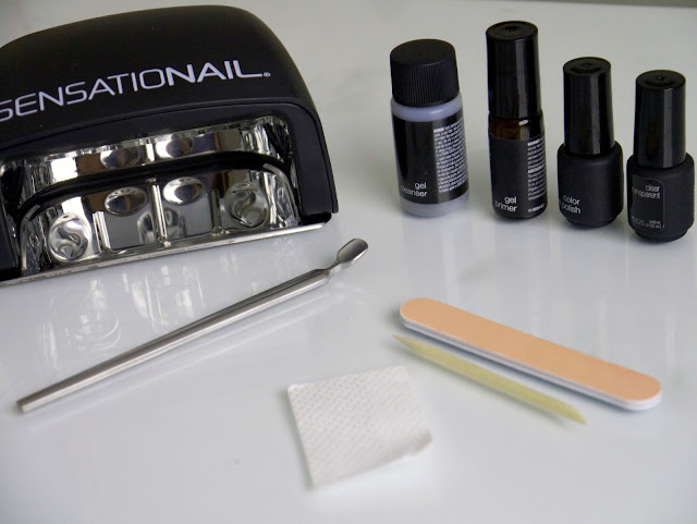 Sensationail gel kit review