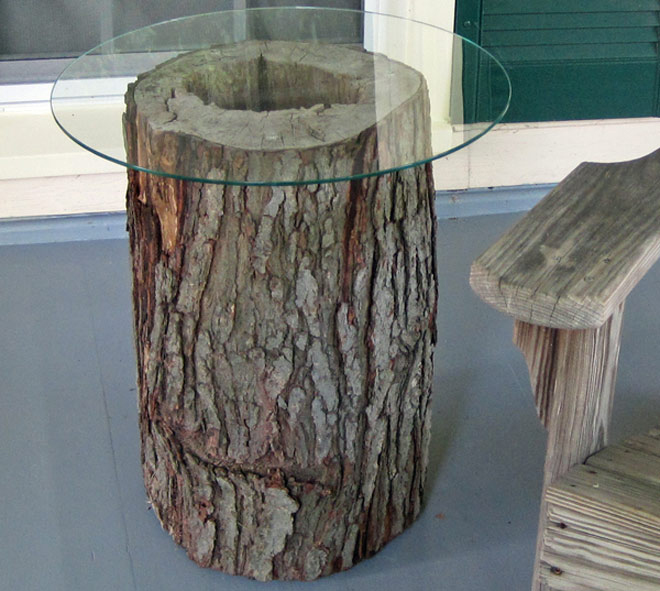 Gone Thrifting Tree Stumps