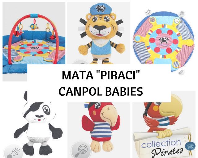 """Mata """"Piraci"""" Od Canpol Babies z Funkcją Kojca. Czy Warto Kupić ?"""