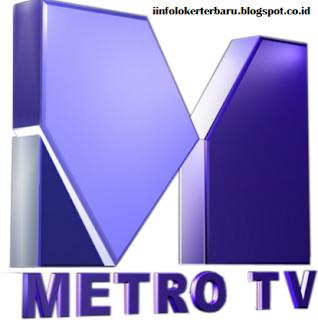 Lowongan Kerja Metro TV (PT Media Televisi Indonesia)