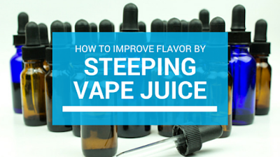 steeping vape juice