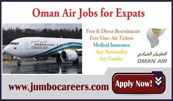Oman Airport jobs with salary and benefits, New vacancies in Air jobs in Oman,