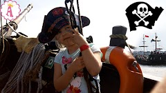 """Пиратский день рождения на корабле """"Пинта Варна"""" и настоящий морской бой: отдых с детьми в Болгарии (как незабываемо отметить 6 лет)"""
