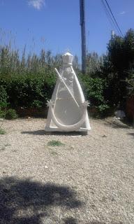 Virgen de Piedra obra de D. Ramó Pérez Melero