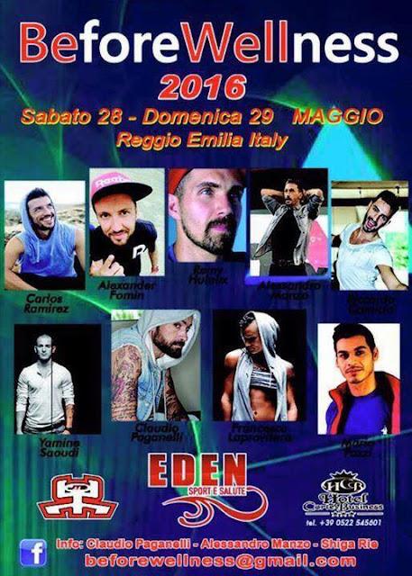 Before Wellness 2016, 28-29 maggio 2016 a Reggio Emilia
