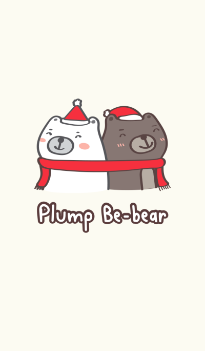 Plump Be-bear (merry x'mas)